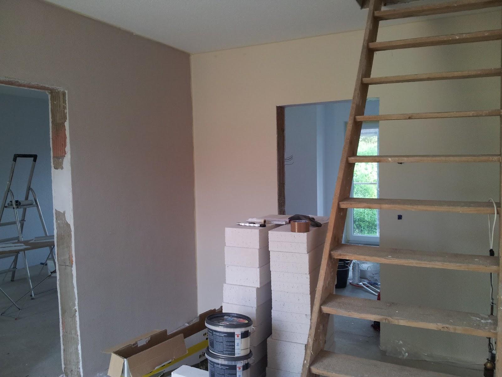 bianca und thorsten bauen 22 kw 39 15 malerarbeiten und tapeten. Black Bedroom Furniture Sets. Home Design Ideas