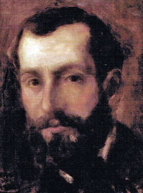 Antonio Aspert Salse, Self Portrait, Portraits of Painters, Antonio Aspert, Fine arts, Portraits of painters blog, Paintings of Antonio Aspert Salse, Painter Antonio Aspert Salse