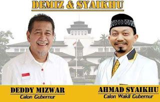 Koalisi Zaman Now Usung Demiz-Syaikhu