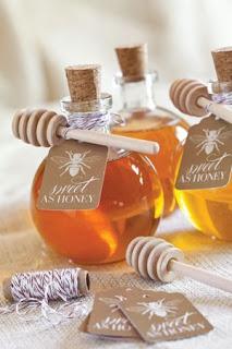 bomboniera con miele biologico