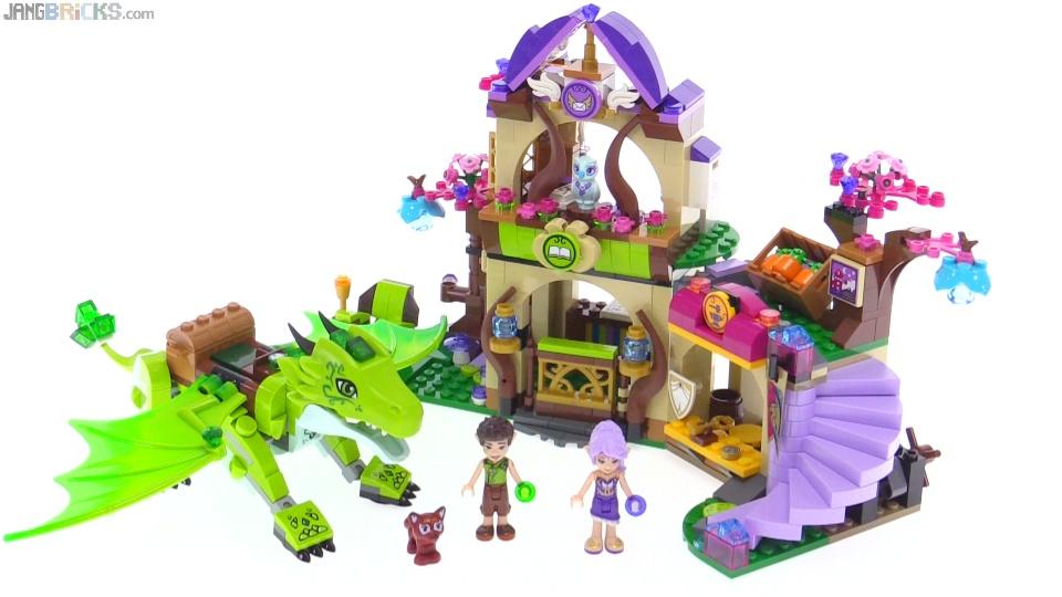 LEGO Elves The Secret Market Place review! 41176
