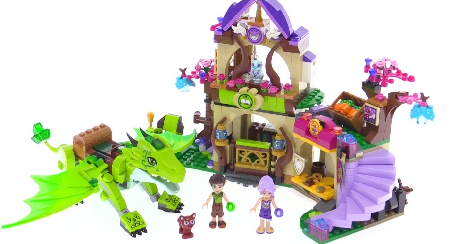 LEGO Elves The Secret Market Place Review 41176