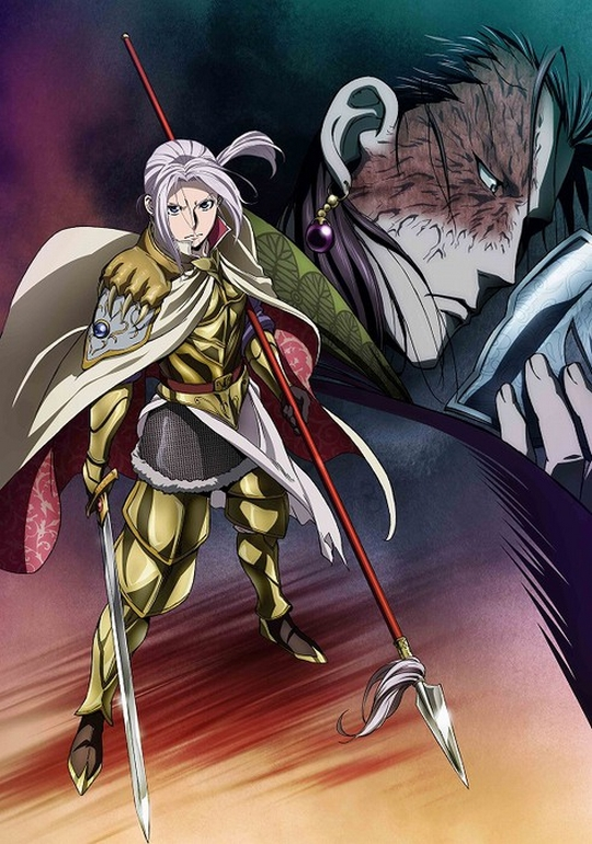 The Heroic Legend of Arslan Saison 2, Actu Japanime, Japanime,