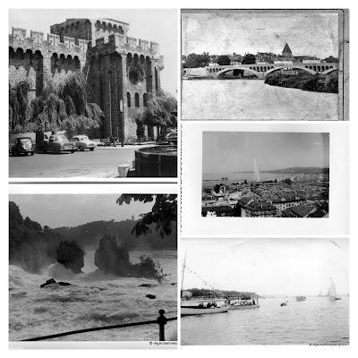 Photos noir et blanc d'hier : les Lieux. Album