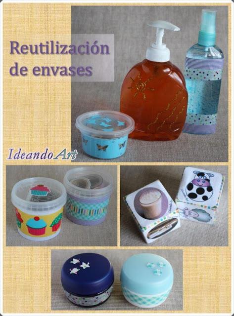 Reutilizando envases