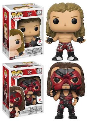 Walgreens Exclusive WWE Shawn Michaels & Kane Pop! Vinyl Figures by Funko