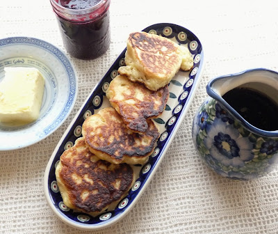 Russian Yeast-Raised Pancakes