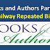 Railway Important Repeated Bits about Books and Authors Part 4