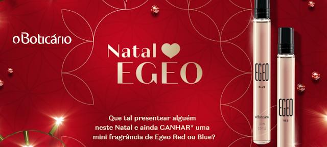 Miniatura do perfume Egeo grátis