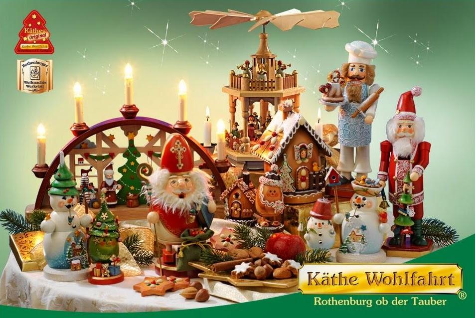 loja Käthe Wohlfahrt de decoração natalina