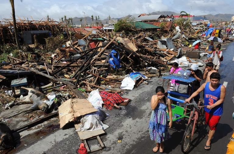 how to help the philippines typhoon victims