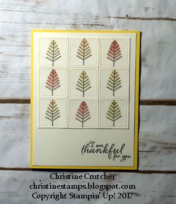 Stampin Up Watercolor Christmas