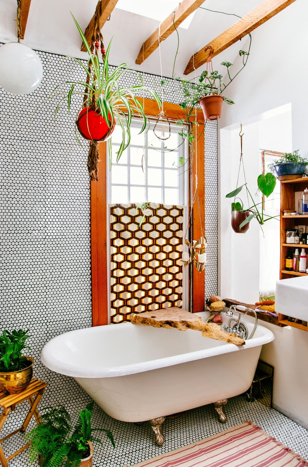 Bohemian Bathroom Decorating Ideas