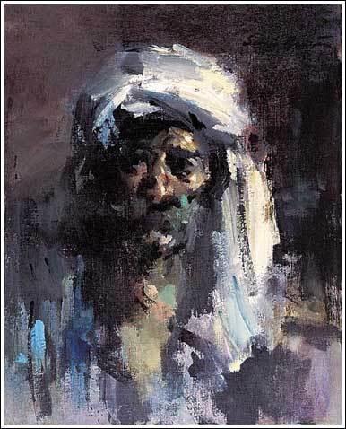 Art Contrarian Sergei Bongart Forceful Painter Forceful
