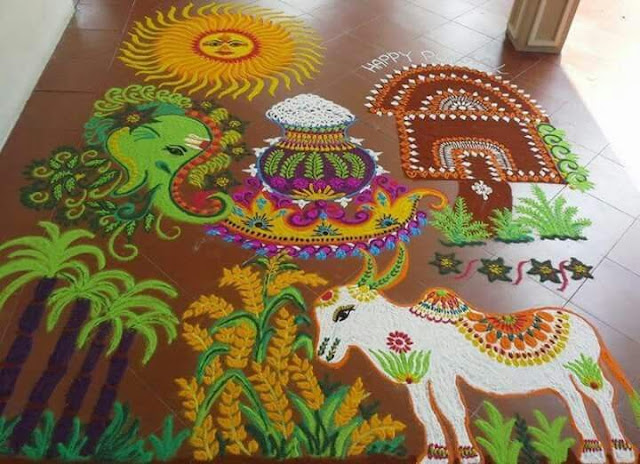 25 Best And Simple Rangoli Design For Diwali 2018