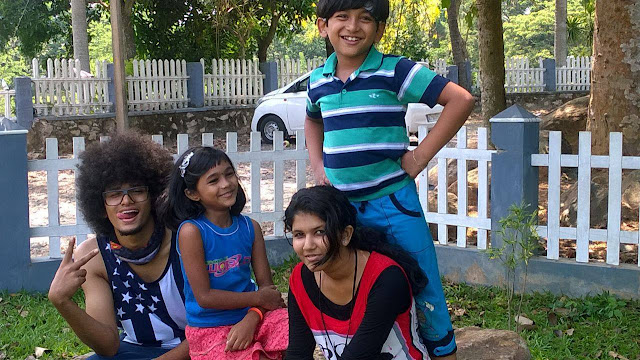 Child actors of Uppum Mulakum  Serial