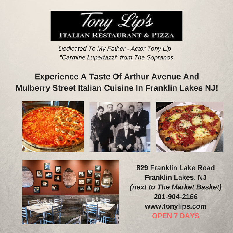 Italian Restaurants Franklin Lakes Tony Lips