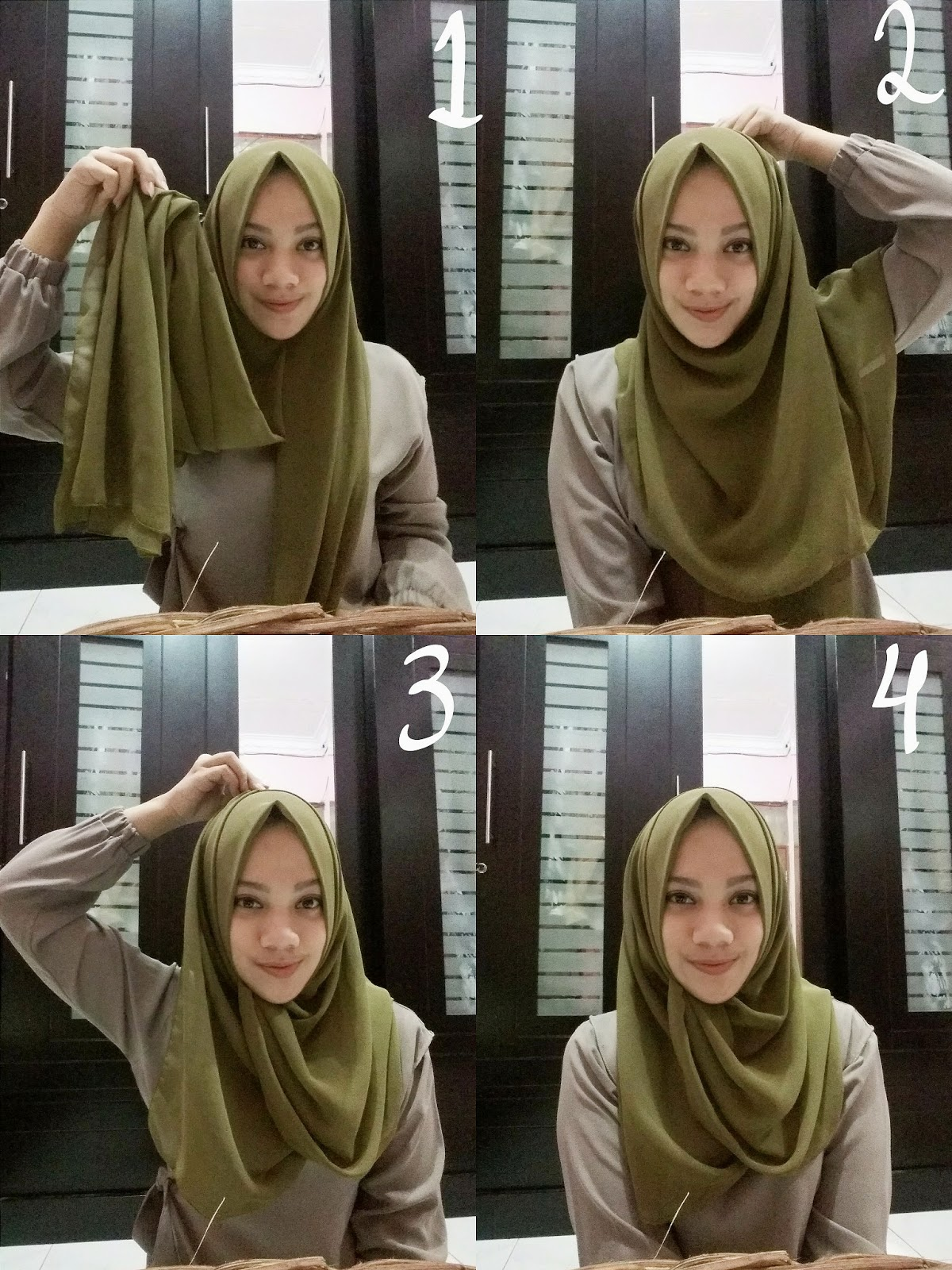 Fashion Style Tutorial Hijab Pashmina Simple Untuk Sehari Hari