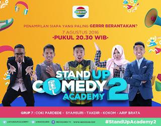 Daftar Nama 28 Peserta Stand Up Comedy Academy 2 Indosiar 2016
