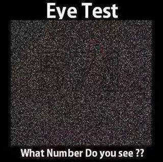 optical illusions illusion test number brain teasers eye hidden mind hangover weekend numbers tricks funny faces puzzles jokes vision cool