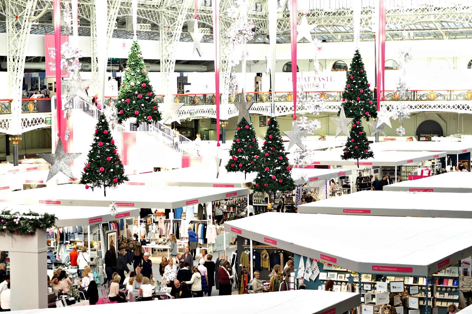 Spirit of Christmas Fair, London Olympia