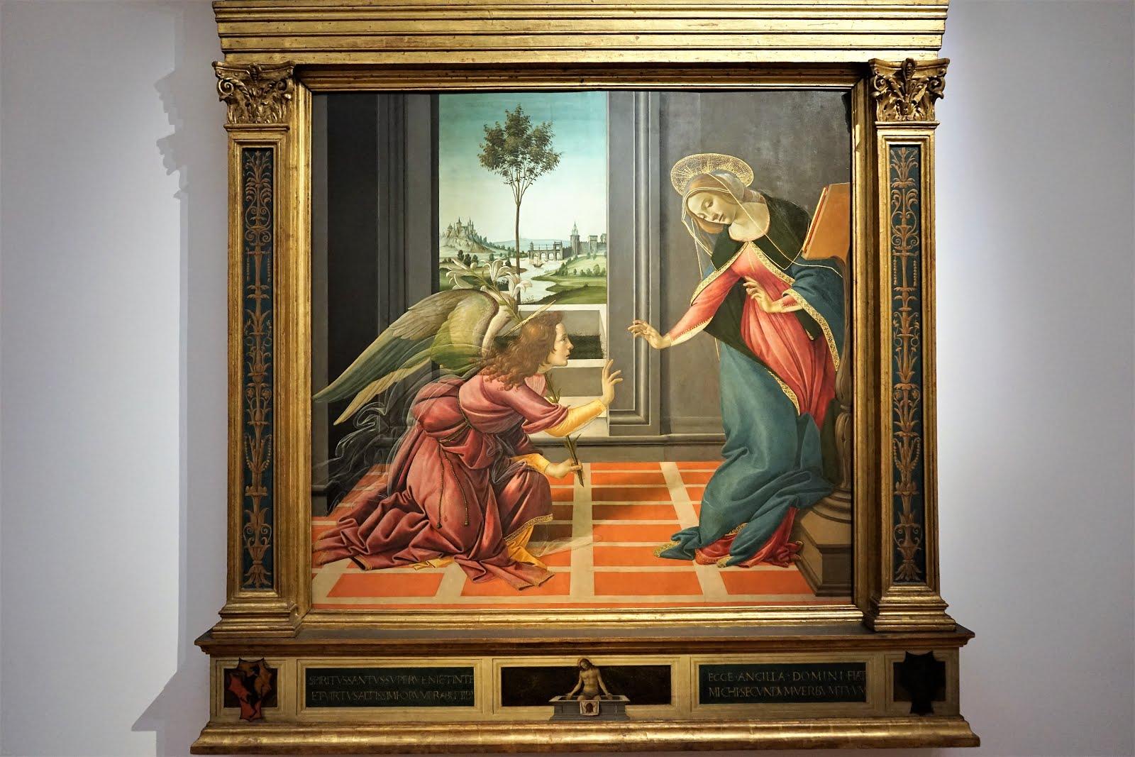 教堂的故事: 烏菲茲美術館(Uffizi Gallery): 來自教堂的名畫賞析(三): 波堤伽利(Sandro Botticelli)的鎮館之寶