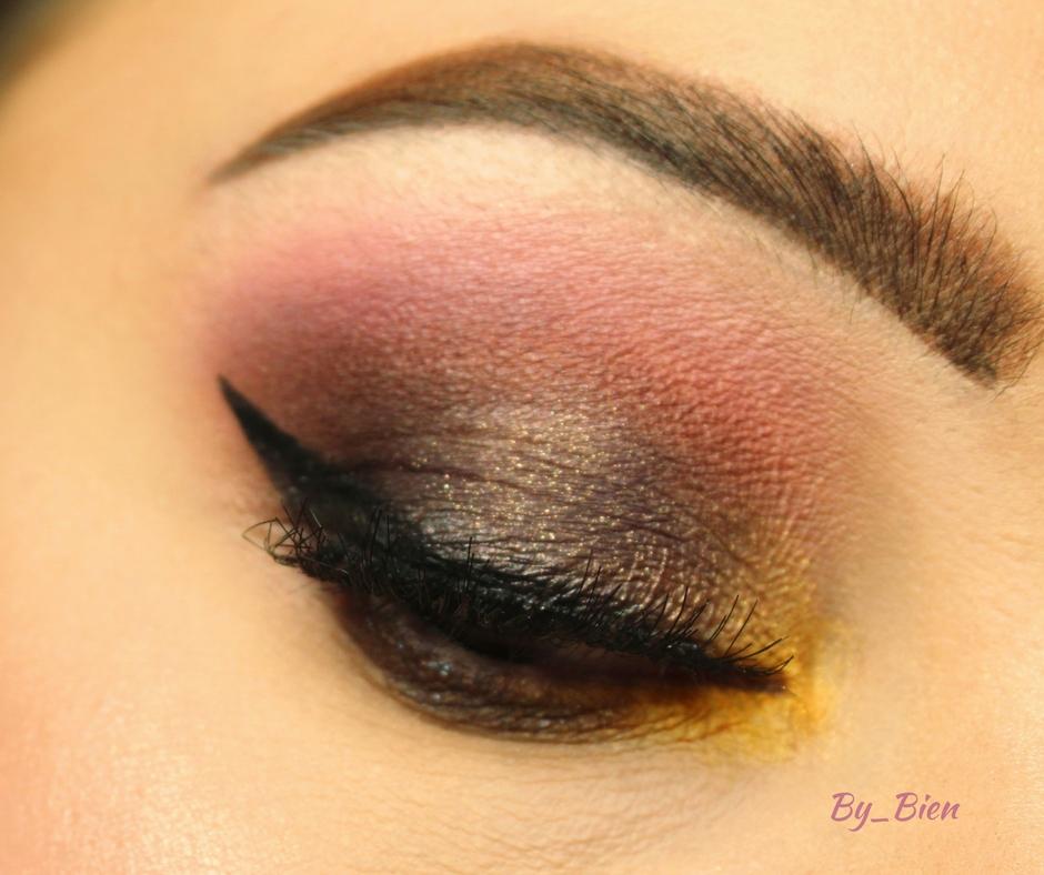Makijaż - nieoczywisty fiolet
