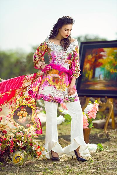 Asifa & Nabeel Luxury Lawn Prints 2017-2018
