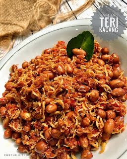 Resep Masakan Sambal Teri Kacang By @cheche_kitchen