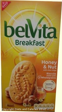 Each biscuit has 56, 57, 54 and 58 calories respectively. Belvita Biscuits newest varieties can be found in this post.