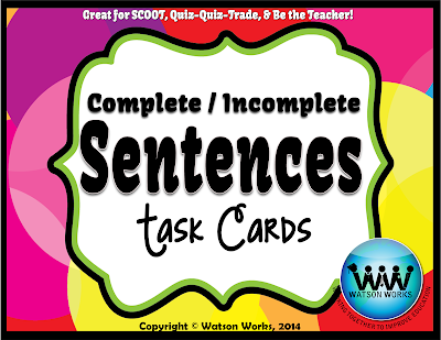 Watson Works 4th Grade Complete Subject Predicate Apps Online