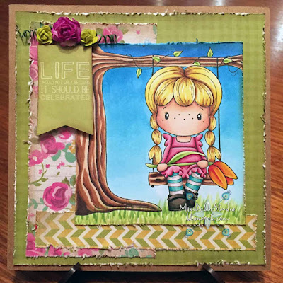 CC Designs Summer Swing & Tulip Birgitta