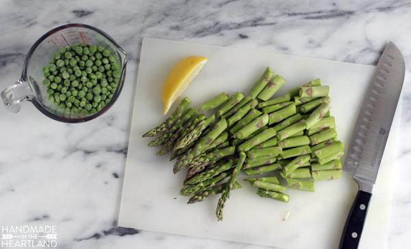 Pea, Asparagus & Pancetta Pasta Recipe