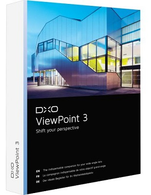 DxO ViewPoint 3.1.16 Build 289 poster box cover