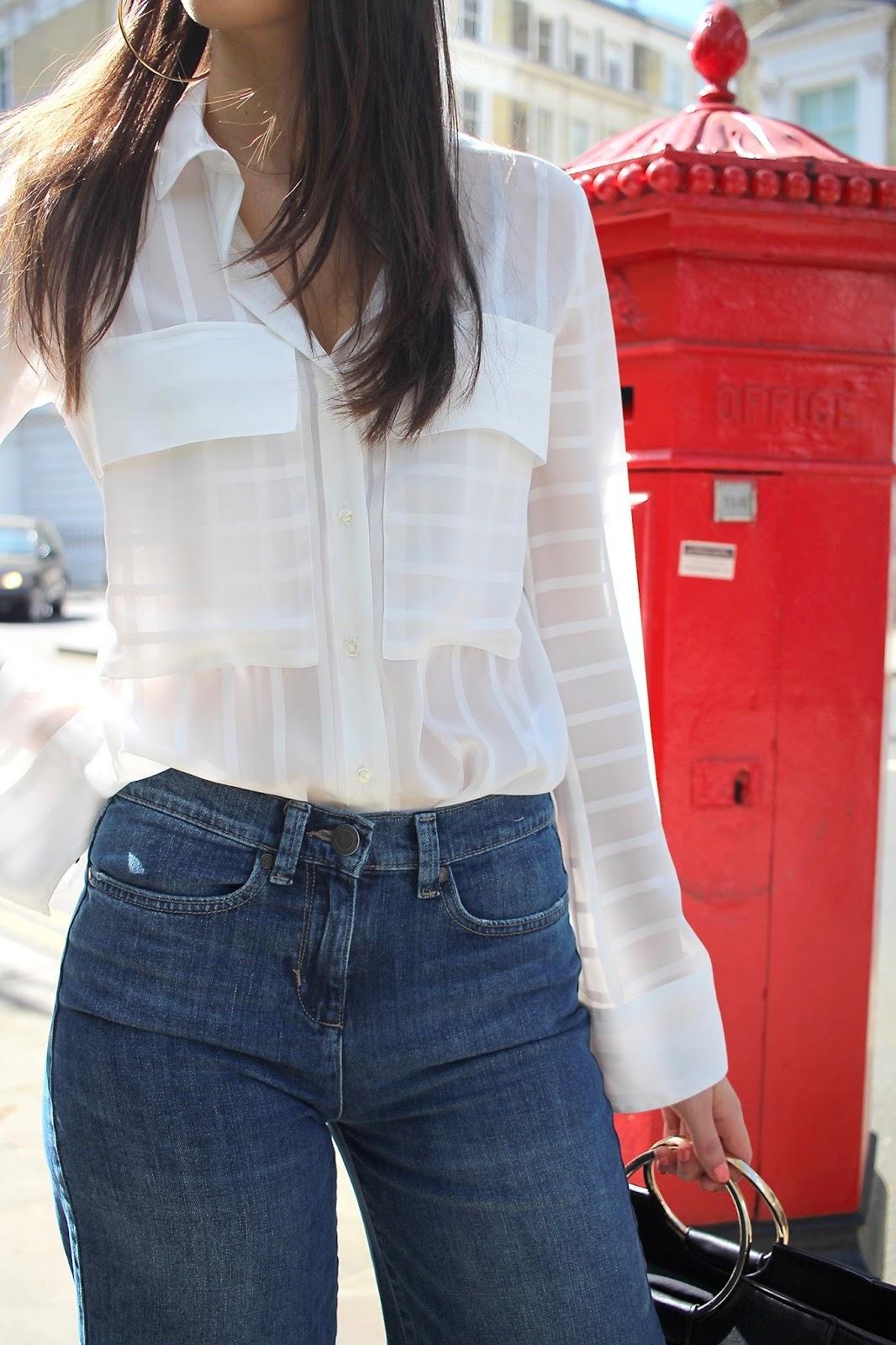 spring style peexo white shirt