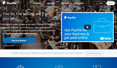 Cara Membuat Akun Paypal Tanpa Kartu Kredit Terbaru