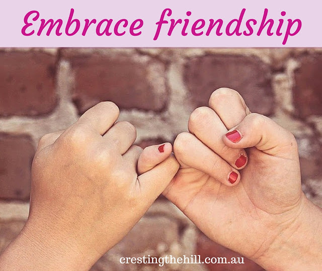 Friendships - true friends, loyal friends, funny friends, faithful friends - are all vital in our lives