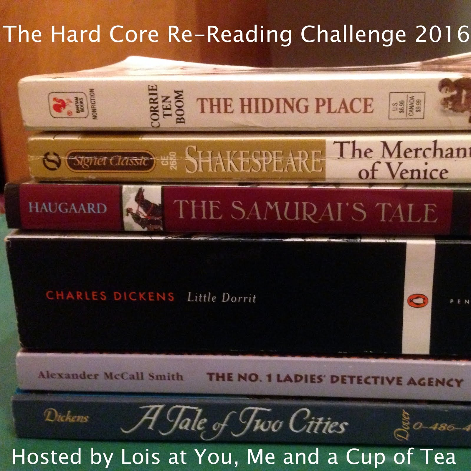 Sign up for the 2016 Hard Core Re-Reading Challenge
