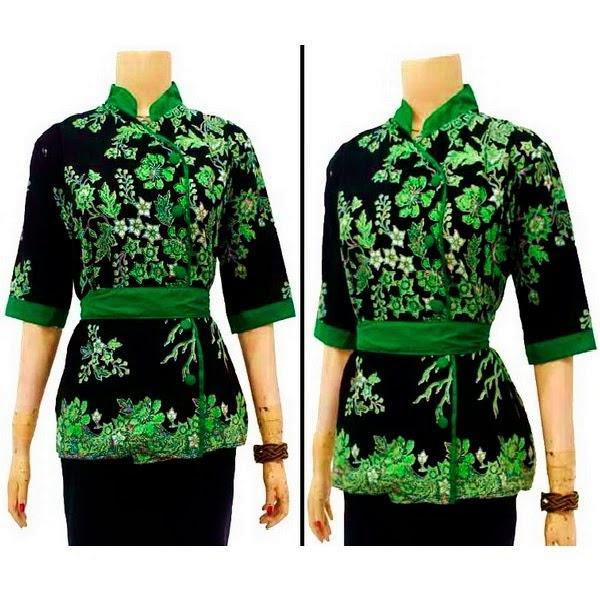 Model foto desain baju batik terbaru yang banyak dicari ...