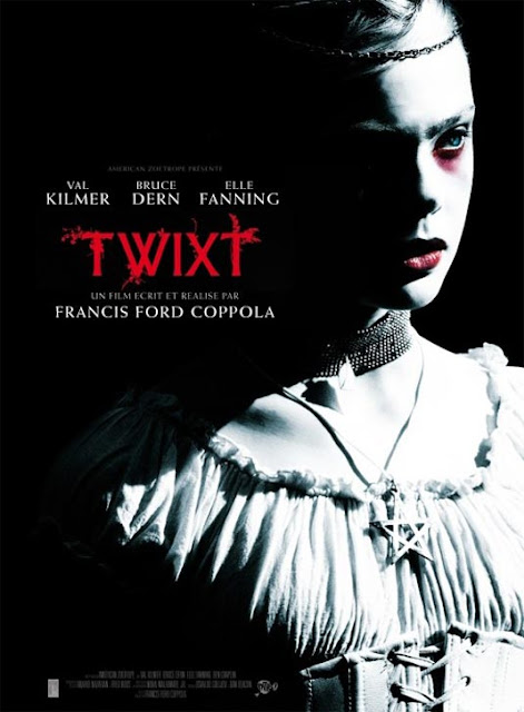 Elle Fanning as V aka Virginia in Twixt (2011), directed by Francis Ford Coppola, starring Val Kilmer as Hall Baltimore