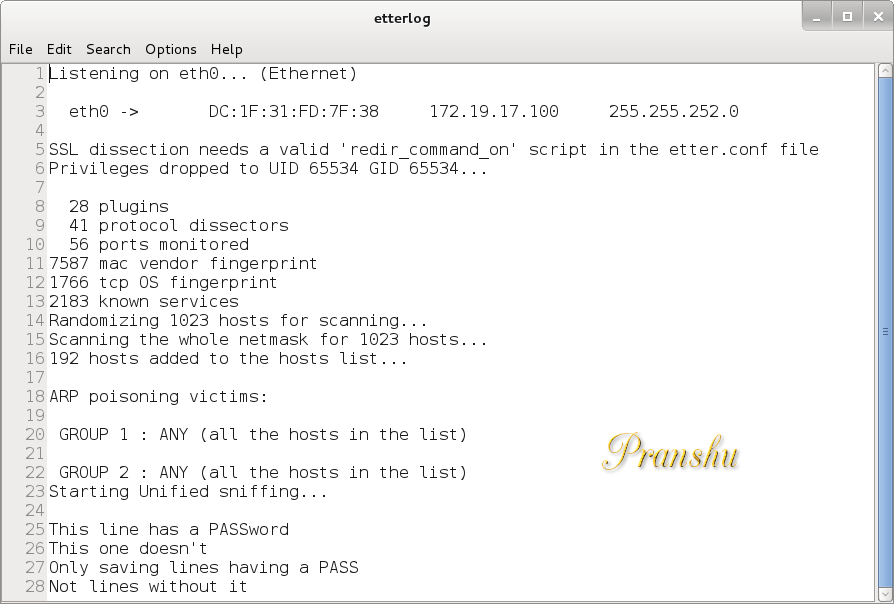 The Life of a Penetration Tester: HuntPass py: Python Script