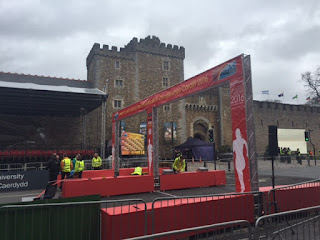 Start of the World Half Marathon Championships in Cardiff