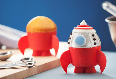 Rocket Baking Cups