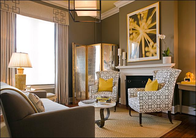 Key interiors by shinay transitional living room design ideas - Transitional style living room ...