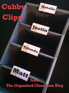 Want a set of free Cubby Clip Labels?