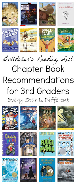 Chapter Book Recommendations for 3rd Graders