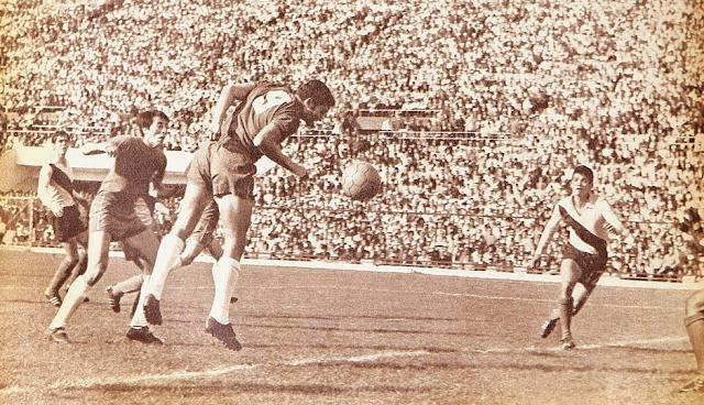 Chile y Ecuador en Clasificatorias a México 1970, 27 de julio de 1969
