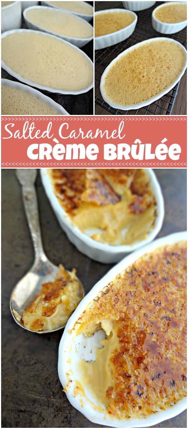 Salted Caramel Crème Brûlée