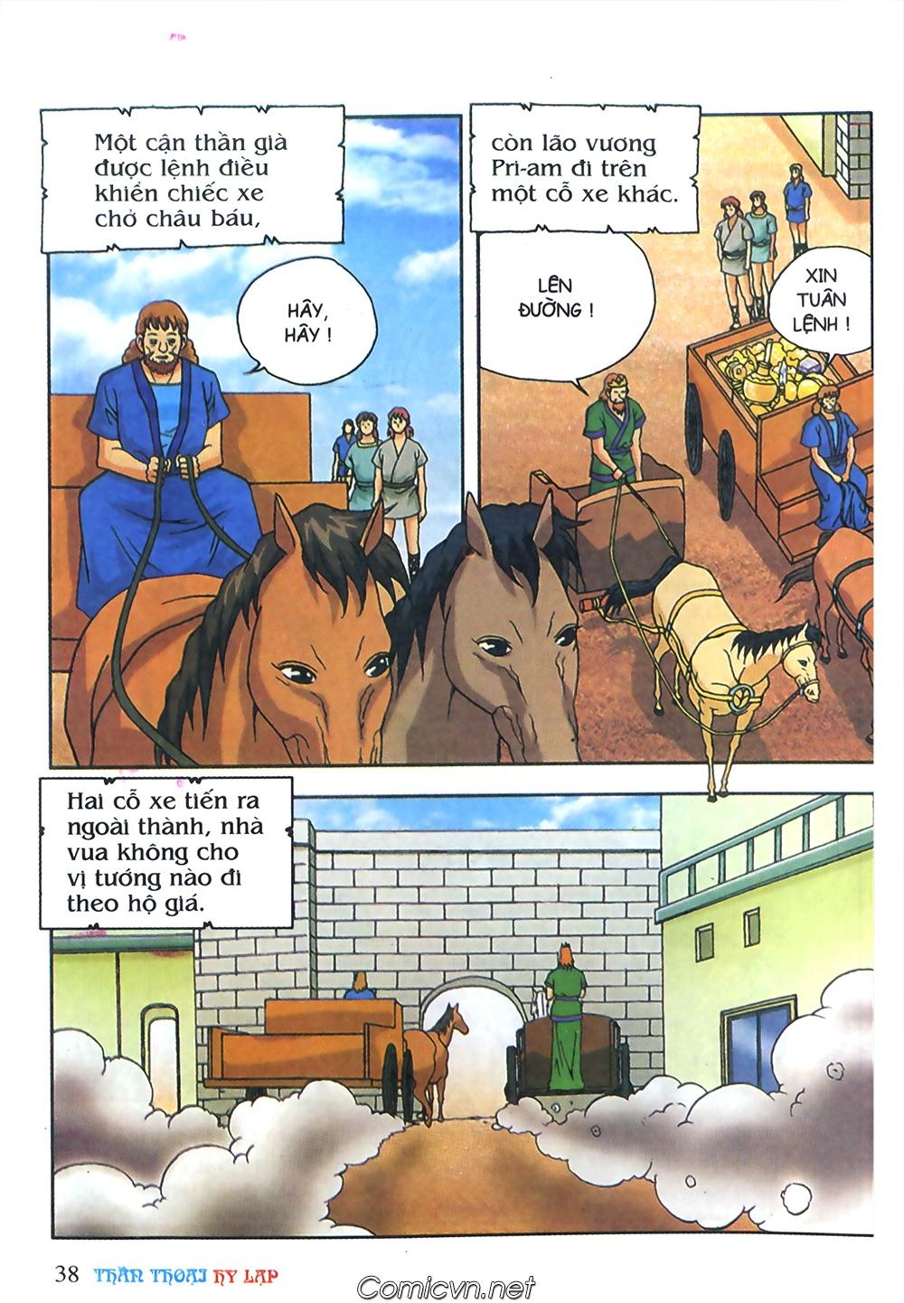 Thần Thoại Hy Lạp Màu - Chapter 63: Lão vương Pri am chuộc xác con - Pic 12