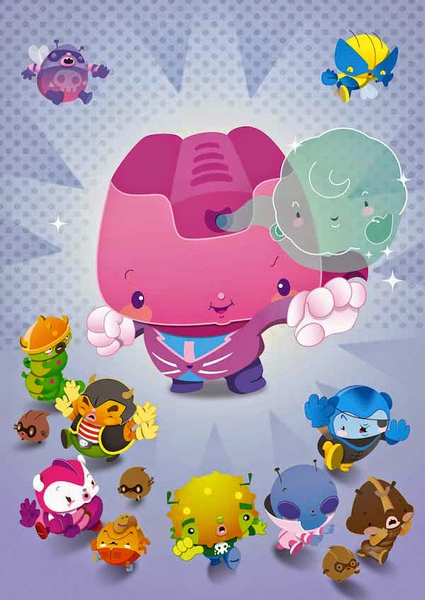 Adobe Illustrator : The secrets of cute character art revealed